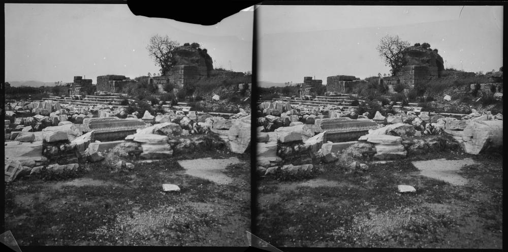 Ruinen der Bibliothek