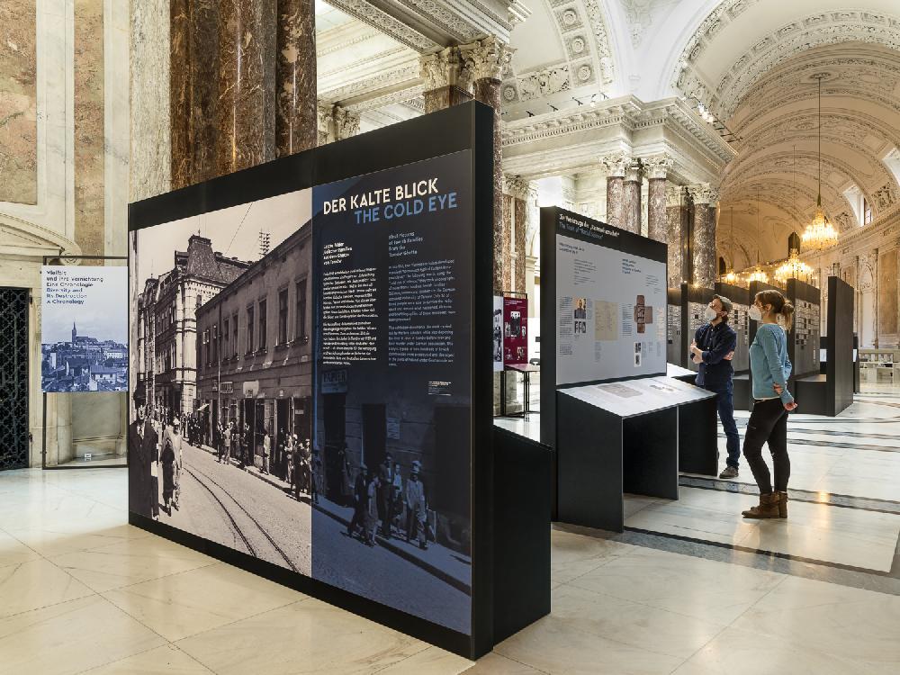 Ausstellungstext und Startpunkt der Ausstellung